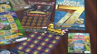 Couple steals $22,050 in lottery tickets