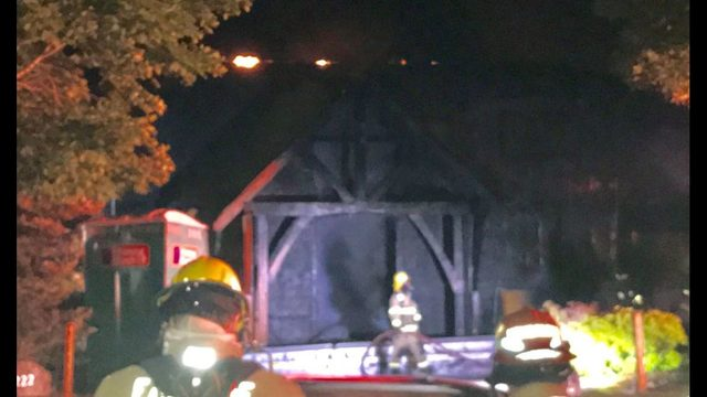 Firefighters injured fighting Snoqualmie house fire