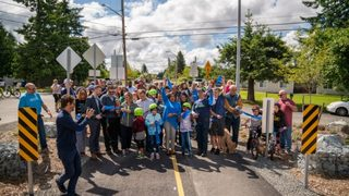 City of Tacoma opens Pipeline Trail with celebration