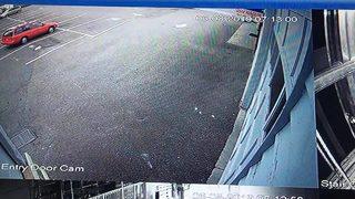 VIDEO: SUV crashes into Shoreline building