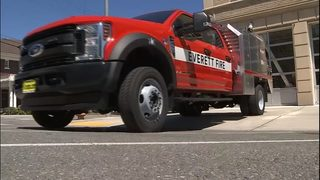 VIDEO: Warm weather, drought conditions have fire departments on high alert