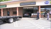 A Redmond business is in shambles after an SUV slammed through the storefront Wednesday morning.