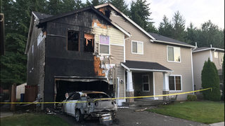 Arson investigation underway after fire at home in South Hill