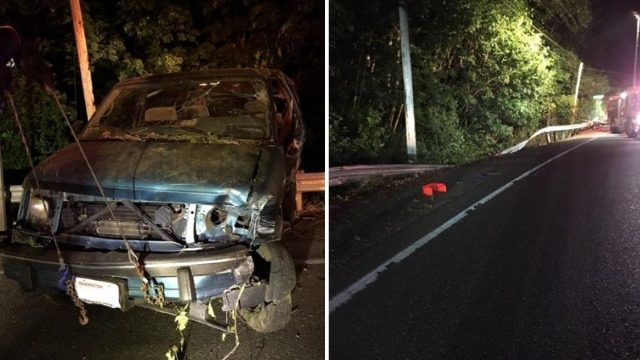 Driver dead after crash down ravine | KIRO-TV