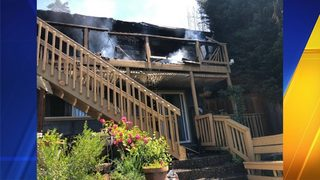 Fire breaks out at Fremont home; 2 dogs found dead