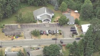 RAW: Authorities investigate possible arson or explosion at Renton church