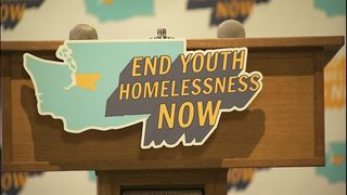 RAW: Members of Pearl Jam on efforts to end youth homelessness in King County.