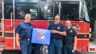 Pepsi sends care package to pup who fell in ravine, first responders who rescued him