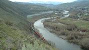 Generic photo of Wenatchee River. (Travisl/Wikimedia Commons)