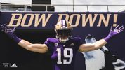 The University of Washington and Adidas introduced the new football uniforms for the 2019 season. (Courtesy: University of Washington Athletics)