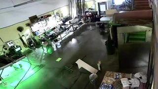 RAW: Quake shakes Monroe design shop