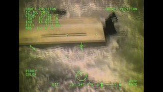 RAW: Coast Guard rescues 3 stranded on beach in Alaska