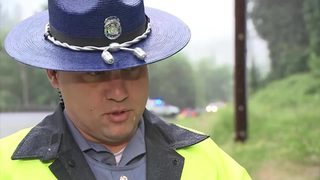 RAW: Trooper explains events in fatal crash near Redmond