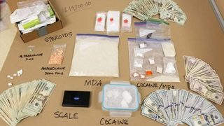 Police seize 1.4 pounds of MDA, more from suspected drug dealer