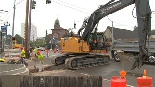 Tacoma light rail construction takes major toll on Stadium District businesses