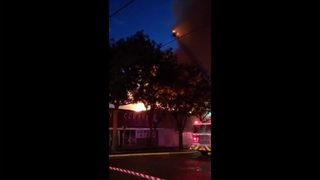RAW: Fire tears through Bellingham businesses 7-18-19 - by Hashna Fennec