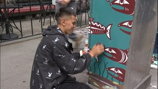 Indigenous art popping up in Pioneer Square