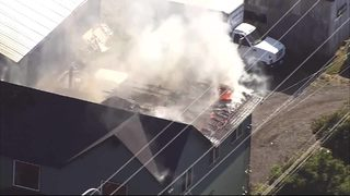 RAW: Fire burns Tacoma duplex