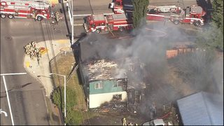 Fire rips through Tacoma duplex
