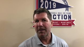 RAW VIDEO: Edgar Martinez before Hall of Fame induction (Saturday, July 20, 2019)