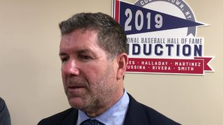 RAW VIDEO: Edgar Martinez after Hall of Fame induction speech