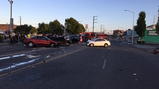 8 hospitalized after multi-vehicle crash in Everett