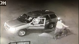 RAW: Surveillance video shows thieves hit Fremont bike shop