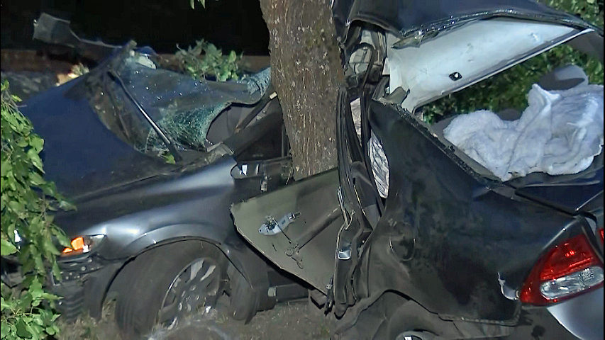 1 teen killed, 3 others hospitalized after violent crash