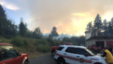 VIDEO: Wildfire causes level 3 evacuation in Mason County