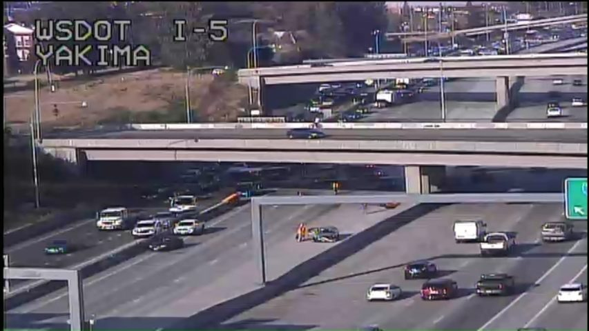 All mainline SB lanes of I-5 in Tacoma reopen after fatal crash