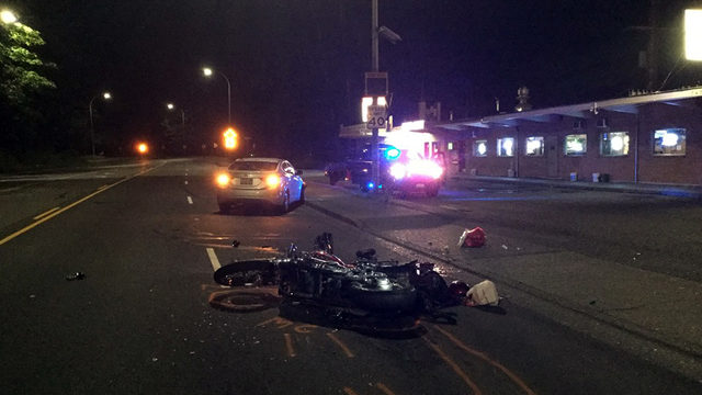 Police: Motorcyclist killed by suspected DUI driver in