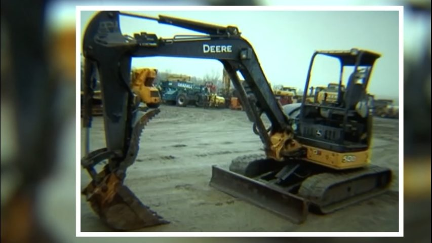 Excavators stolen from Tacoma construction sites | KIRO-TV