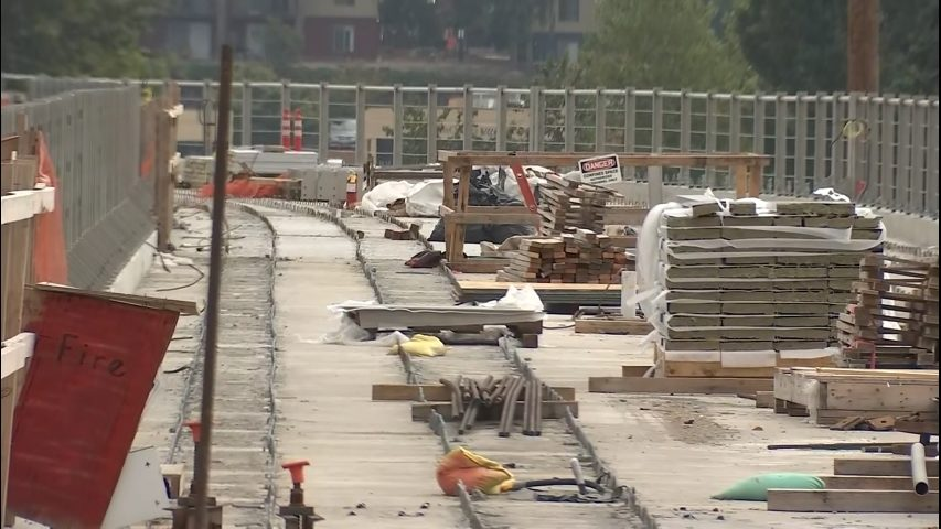 Southbound lanes of I-405 closed in Bellevue this weekend