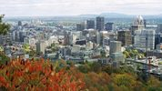 Downtown Montreal via Wikimedia Commons user AnnaKucsma
