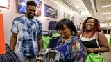 PHOTOS: Seahawks' D.K. Metcalf surprises local teachers with $200 gift cards