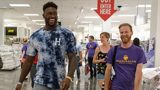 Seahawks' D.K. Metcalf surprises local teachers with $200 gift cards