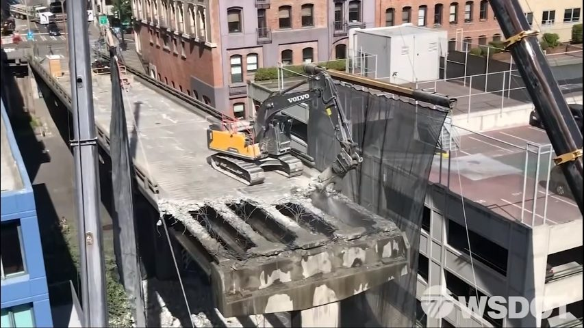 Viaduct demolition leads to more street closures as project nears final stages