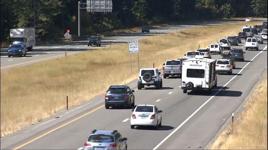 WSDOT releases travel tips for Labor Day weekend | KIRO-TV