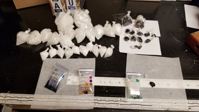 Meth and heroin seized, 14 arrested during emphasis patrol