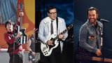 Left: Billie Joe Armstrong (Photo by Theo Wargo/Getty Images) Center: Rivers Cuomo (Photo by Kevin Winter/Getty Images for KROQ) Right: Pete Wentz (Photo by Tommaso Boddi/Getty Images for iHeartMedia)