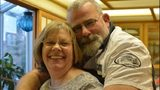 VIDEO: Wife of badly burned firefighter provides update