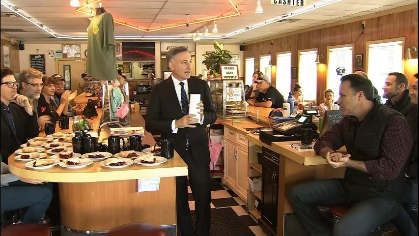 King County Executive Dow Constantine announces new initiative to promote regional film industry