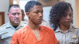 Treyshawn Donovan Hilton, 17, appears in court Sept. 18, in connection with the fatal shooting of a 16-year-old boy in Tacoma. Pierce County prosecutors charged him and two others with the July 30 death of Jamone Pratt. (Drew Perine/News Tribune)