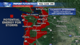 Thursday thunderstorms could impact Seahawks game