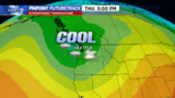 A cold pocket of air aloft will be an ingredient for storms with lightning and small hail Thursday afternoon and evening around Western Washington.