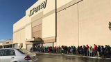 The line of customers at JC Penney before the store opened on Thanksgiving 2017 at the Tacoma Mall. The retailer is hiring for seasonal help with a national day of hiring Oct. 15. Debbie Cockrell, The News Tribune