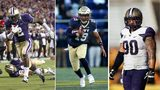 Left: Kasen Williams via Otto Greule Jr/Getty Images Middle: Keenan Reynolds via Patrick Smith/Getty Images Right: Taniela Tupou via Christian Petersen/Getty Images