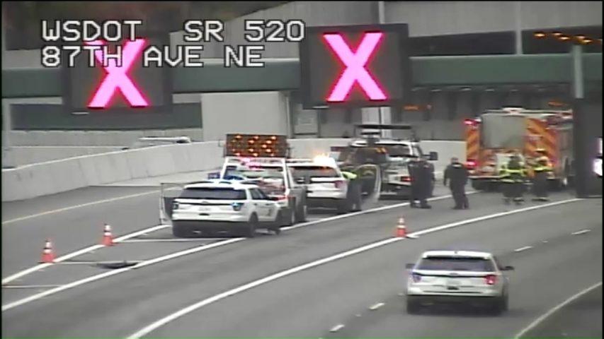 Motorcyclist killed in wrong-way crash on SR 520 in Bellevue