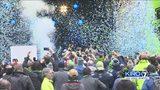 VIDEO: Sounders celebrate MLS Cup win