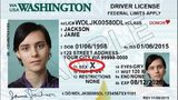 The Gender X identification example in Washington state.